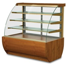 IGLOO Jamaica JA130WW Wood Refrigerated Pastry Case